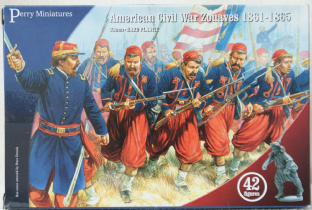 Perry Miniatures 28mm ACW-70 ACW Zouaves Infantry 1861-65